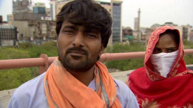 Neeraj Kumar和妻子