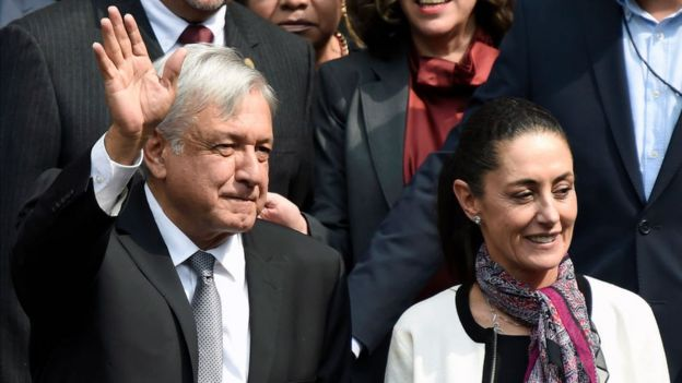 López Obrador y Sheinbaum