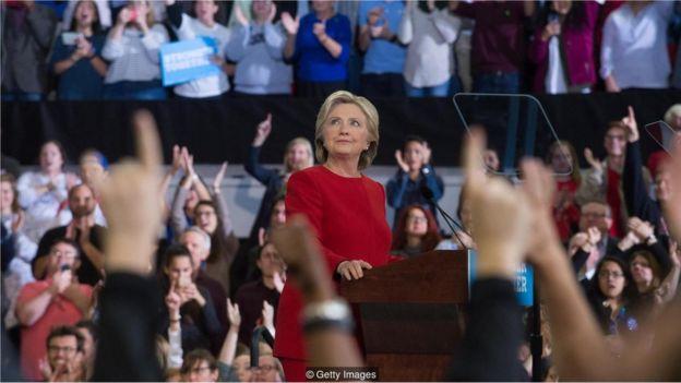 Hillary Clinton em 2016
