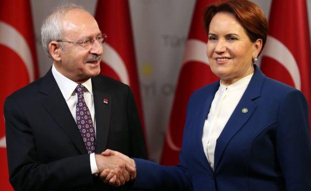 Kılıçdaroğlu Akşener