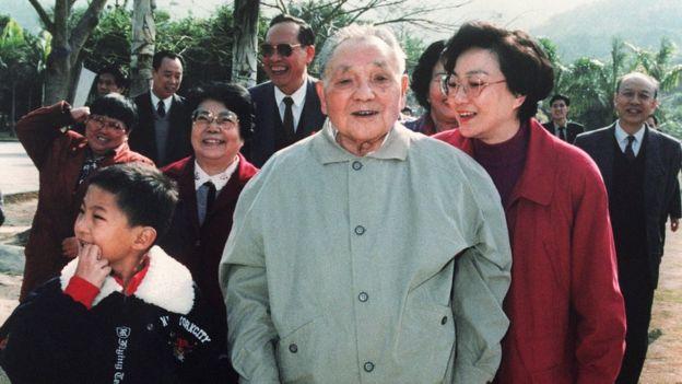 邓小平与家人