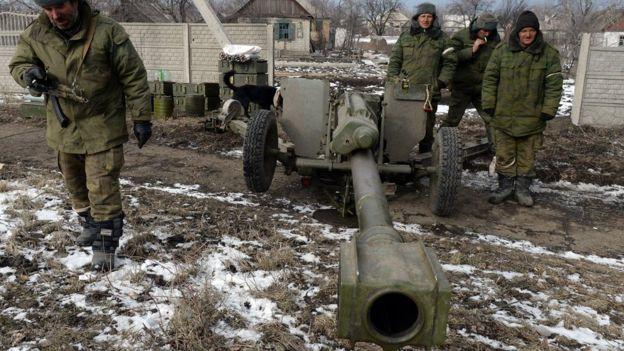 Гаубица в ДНР