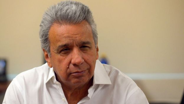 Lenín Moreno.