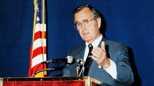 George Hw Bush The Making Of A President Bbc News