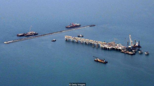 Produção de petróleo em Bahrein