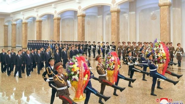 Celebrations for birth anniversary of President Kim Il Sung