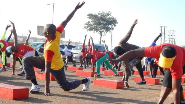 91d1a9cd7 Why Uganda is the  world s fittest country  - BBC News