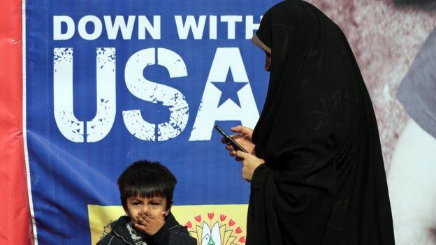"""عقوبات إيران: """"طيش أمريكي"""" """"يوم"""