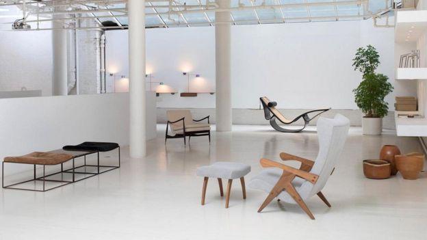 Trabalho de Zanine Caldas, na galeria Espasso em Miami