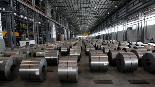 Brasil es un exportador de acero, que es un producto sin demasiado valor añadido, según un economista mexicano, por lo que este país podría verse más afectado por los aranceles que anunció Trump. Foto: EPA