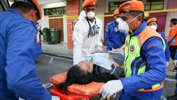 Pada bulan Maret, lebih dari 4.000 orang di Pasir Gudang menjadi sakit karena menghirup gas beracun.