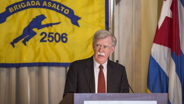 El asesor de seguridad nacional de Donald Trump, John Bolton