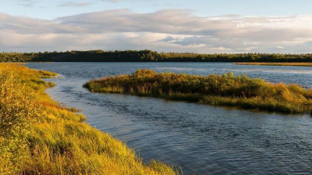 Río Naknek en Alaska.
