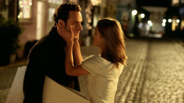 Andrew Lincoln and Keira Knightly in Love Actually