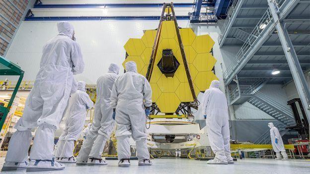 Espejo del telescopio James Webb