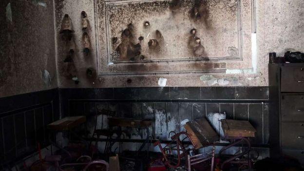 آتش سوزی در پیش دبستانی زاهدان