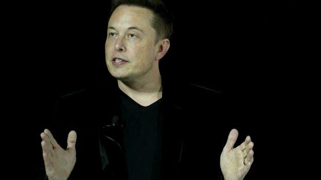 Илон Маск, глава компаний Tesla и SpaceX