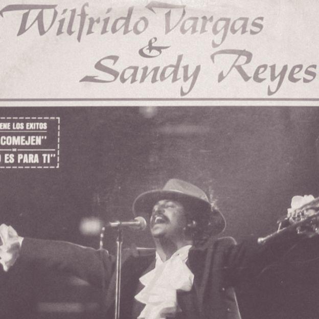 Tapa de un disco de Wilfrido Vargas