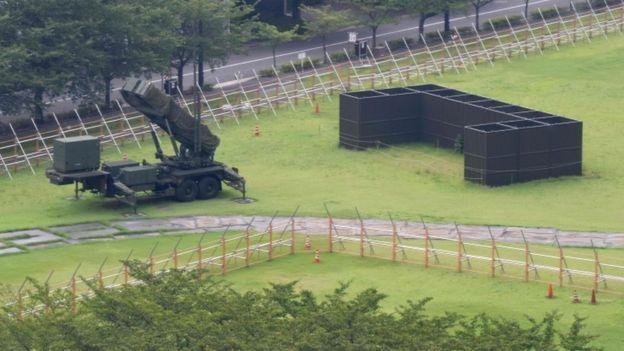 Jepang, pertahanan rudal