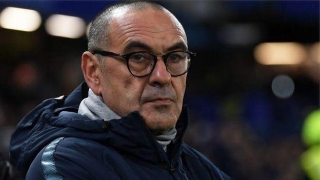 Kocha wa Chelsea Maurizio Sarri