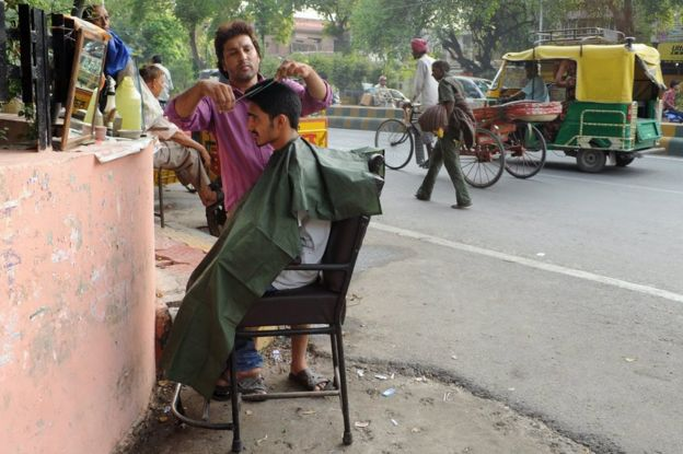 Why The Indian Barbershop Is A Unique Institution Bbc News