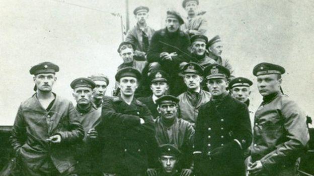 German U-boat crew