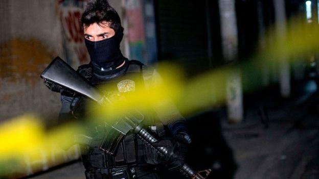 Policía brasileño