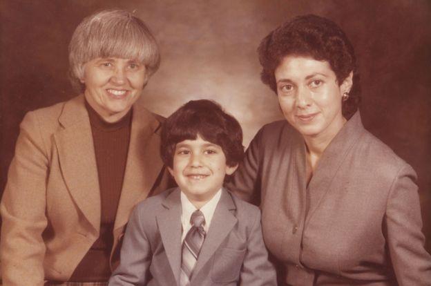 Phyllis y Lillian con Avrom, en 1979, cuando tenía 4 años.