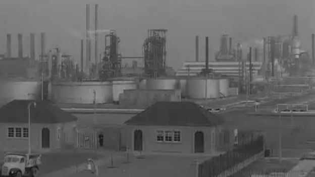 Grangemouth: 100 years in the oil industry - BBC News