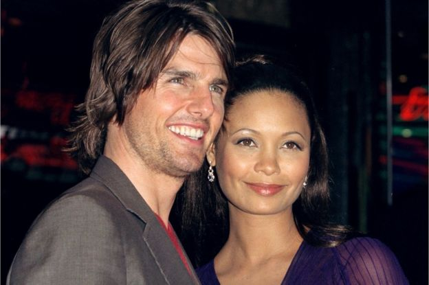Tom Cruise and Thandie Newton