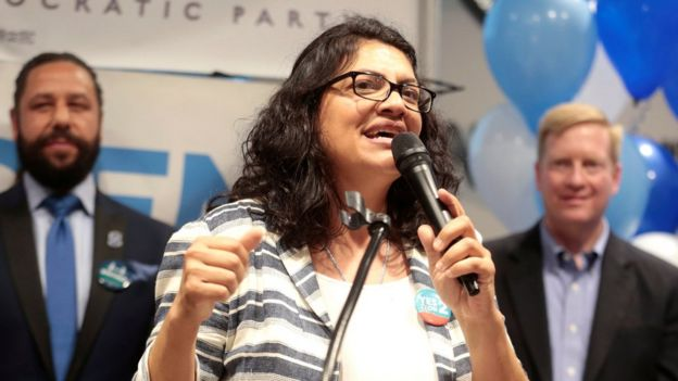 Demokrat Partili aday Rashida Tlaib