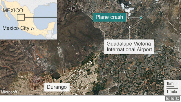 Mexico plane crash: All 103 people on board survive - BBC News