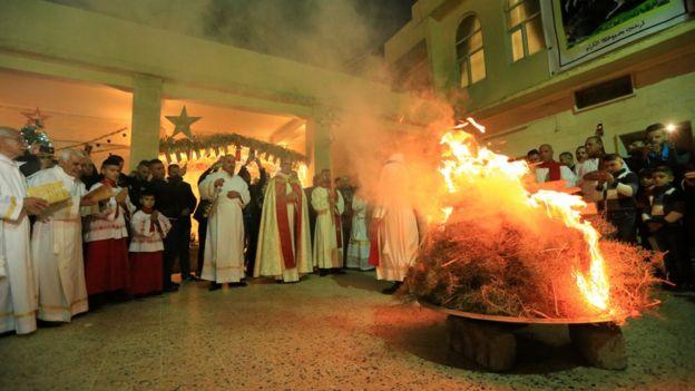 Праздничная месса в Телескофе, Ирак