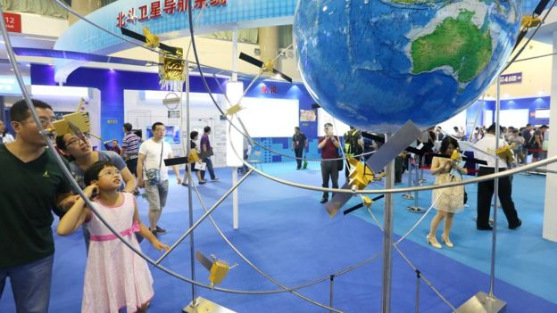 Exposición del sistema Beidu en Pekín