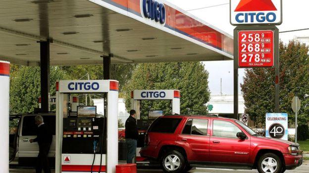 Una estación de gasolina de Citgo.