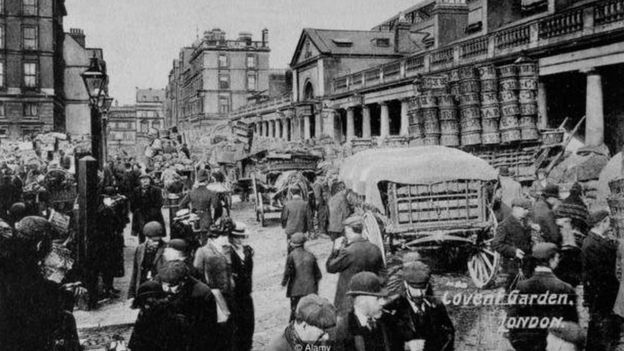 Cidade no século 19
