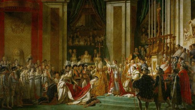 La coronación de Napoléon