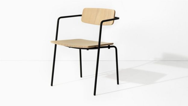 The Float chair by Vengen has pared-back lines (Credit: Steen Evald)