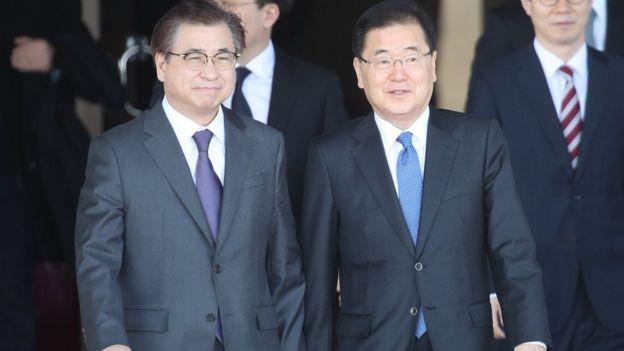 Korea Utara, Korea Selatan,