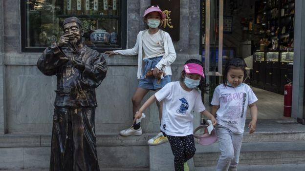 Niñas en China