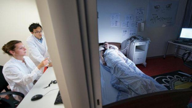 Sleep Lab Researchers.