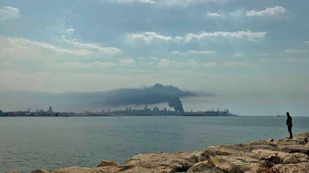 Vista desde Dbayeh.