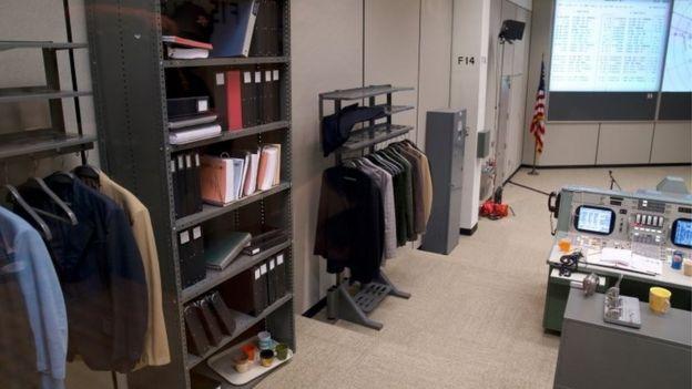 Sala de controle da Nasa após reforma