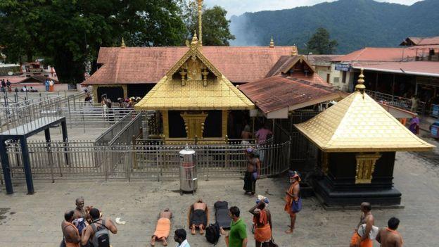 केरल का सबरीमला मंदिर