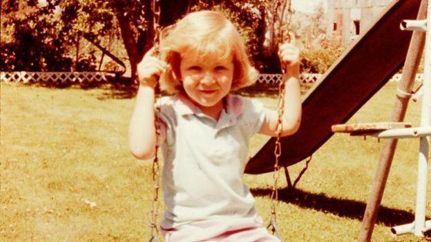 Tara Westover cuando era niña