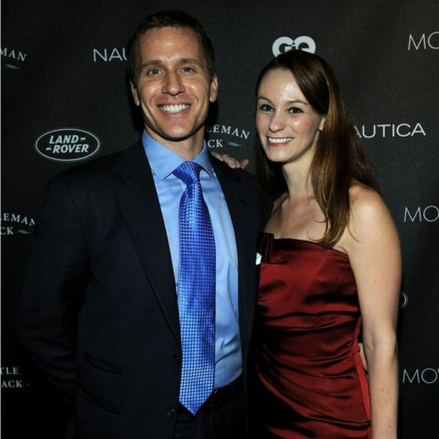 Missouri Governor Eric Greitens and his wife Sheena
