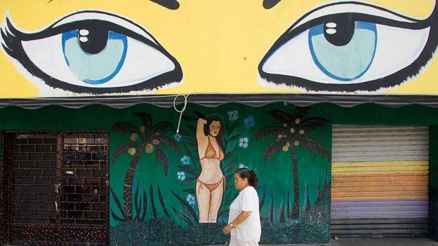 Bar de Ciudad Juárez, en el estado de Chihuaha.