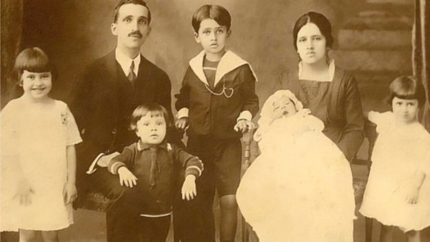 Família de irmã Dulce nos anos 1920