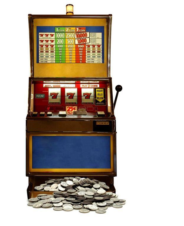 máquina tragamonedas