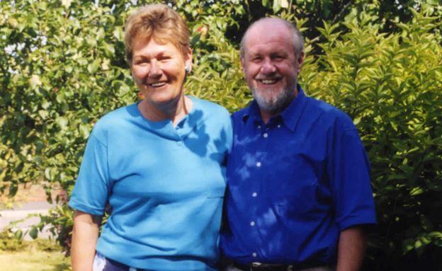 David Coles and Marjorie